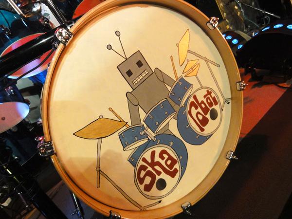 Robot Bass Drum