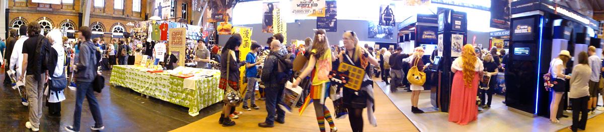 MCM Manchester Comic Con 2012