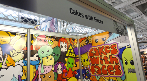 Cakes with Faces at LondonEdge