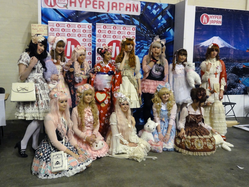 Lolita Fashion at Hyper Japan