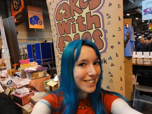 Amy at MCM Birmingham Comic Con 2013