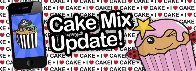 Cake Mix app