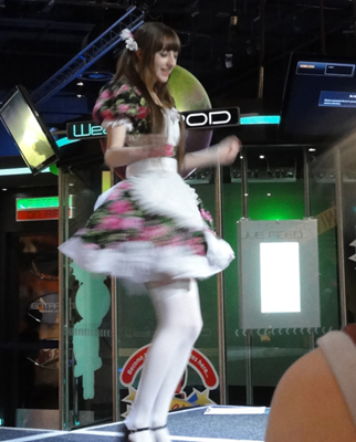 Beckii Cruel Dancing at Japanorama