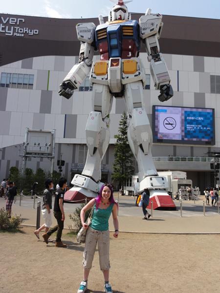Giant Gundam in Odaiba