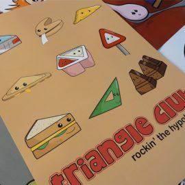 Triangle Club Graphic Art Print