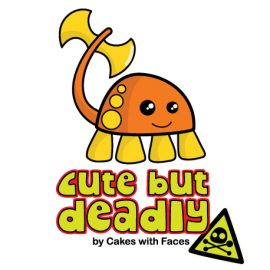 Cute but Deadly Baby Vest by Cakes with Faces
