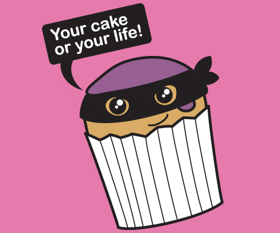 Your Cake or Your Life Cute Pink Vest