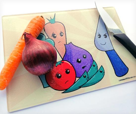 Colourful Chopping Board