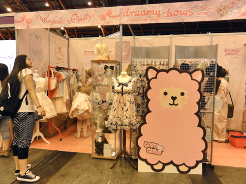 Dreamy Bows selling Angelic Pretty at Hyper Japan