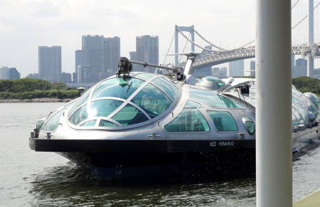 Himiko Boat in Tokyo
