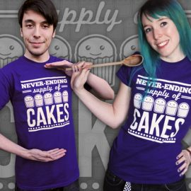 Never-ending Supply of Cakes T-Shirt