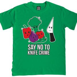 Say No to Knife Crime T-Shirt