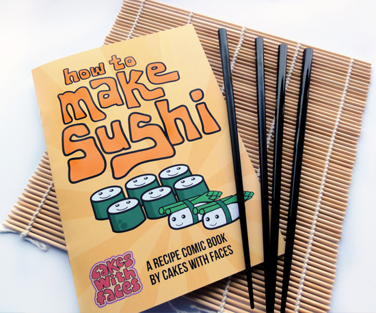 Sushi Comic Recipe Book