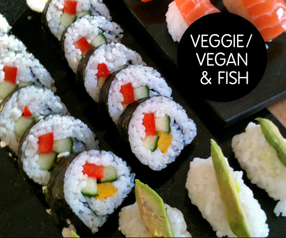 Vegetarian & Vegan Sushi Recipes