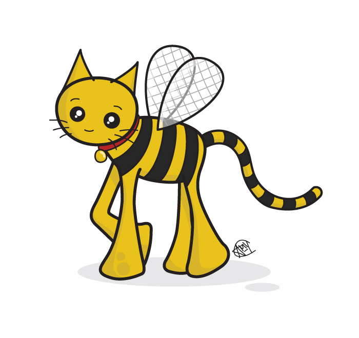 Bumblebee Cat T-Shirt