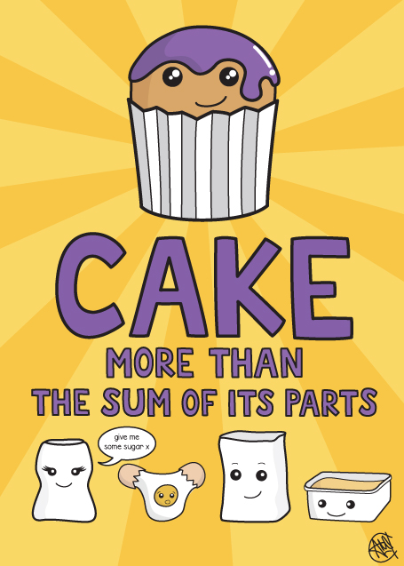 Cake: More Than the Sum of its Parts