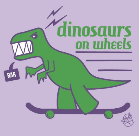 dinosaurs-on-wheels