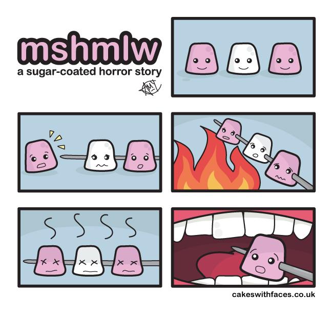 Marshmallow Comic