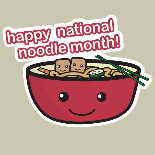 Noodle Month