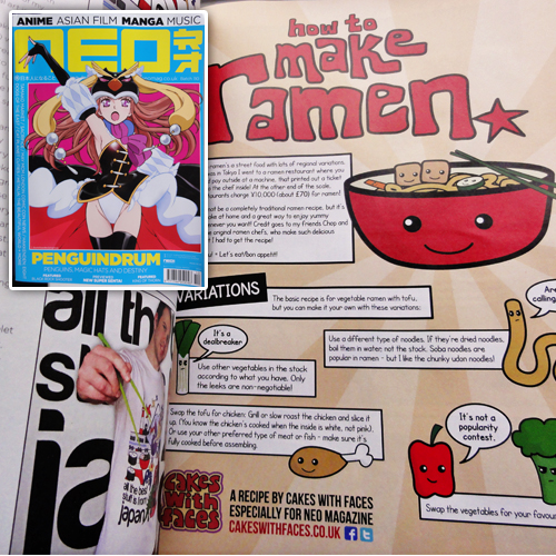 Ramen Recipe in NEO Magazine