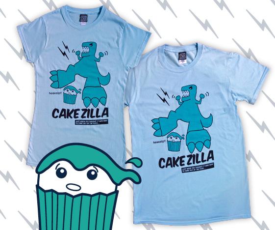 Cakezilla Funny T-Shirt