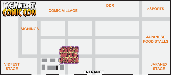 MCM Expo London floorplan Oct 2013