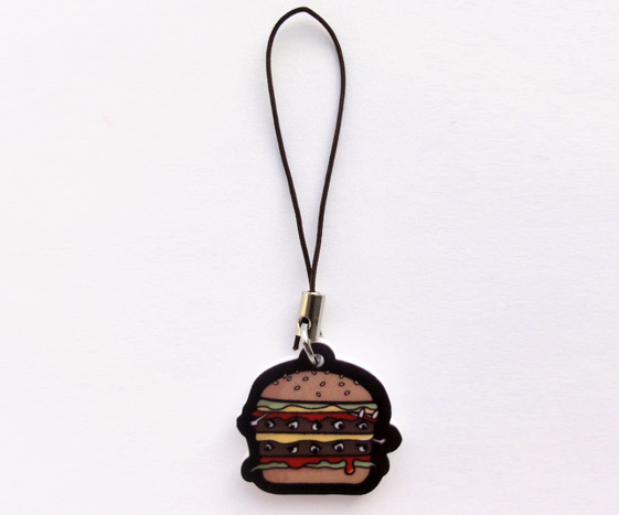 Fast Food Phone Charm
