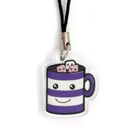 Hot chocolate charm