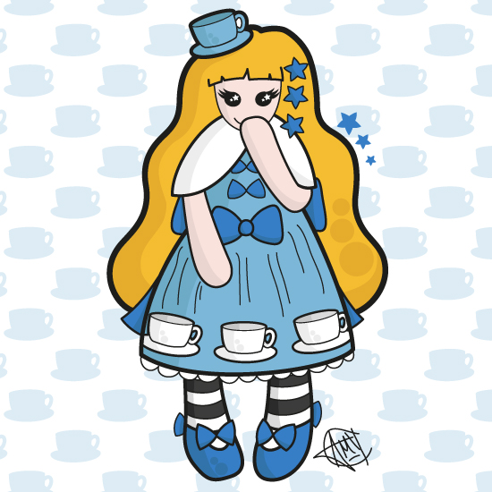 Kawaii Alice-inspired Lolita