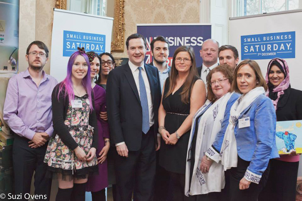 Small Business Saturday at Downing Street
