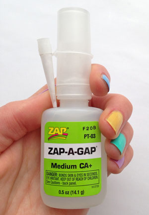 Zap-a-Gap-glue