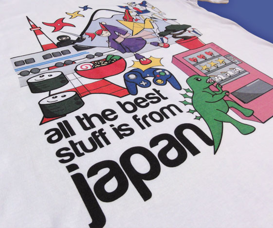 Japanese anime t-shirt