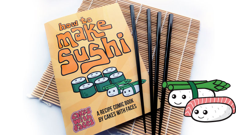How to Make Sushi Comic