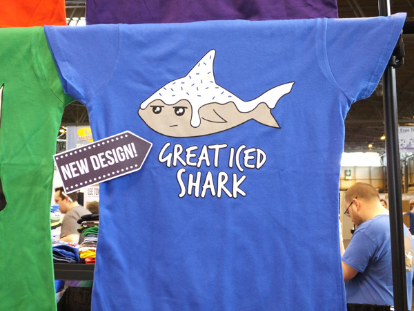 Great Iced Shark t-shirt