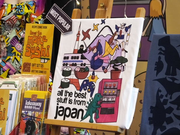 All the Best Stuff is from Japan t-shirt