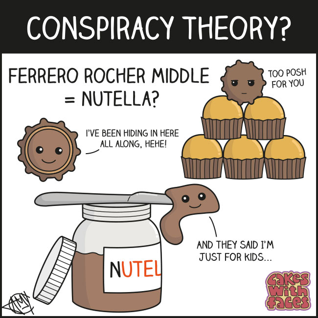 Nutella conspiracy theory comic