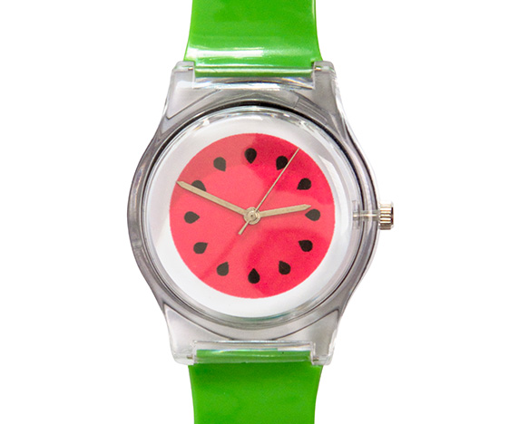 Watermelon watch - fast food fashion trend