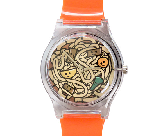 Colourful ramen watch
