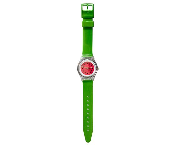 Colourful watermelon watch
