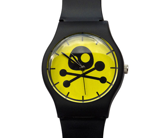 Black Cute but Deadly watch