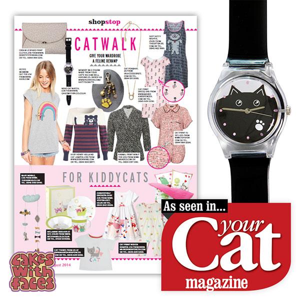 Neko Cat watch in Your Cat magazine