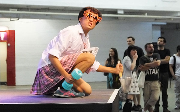 Kawaii stage performance
