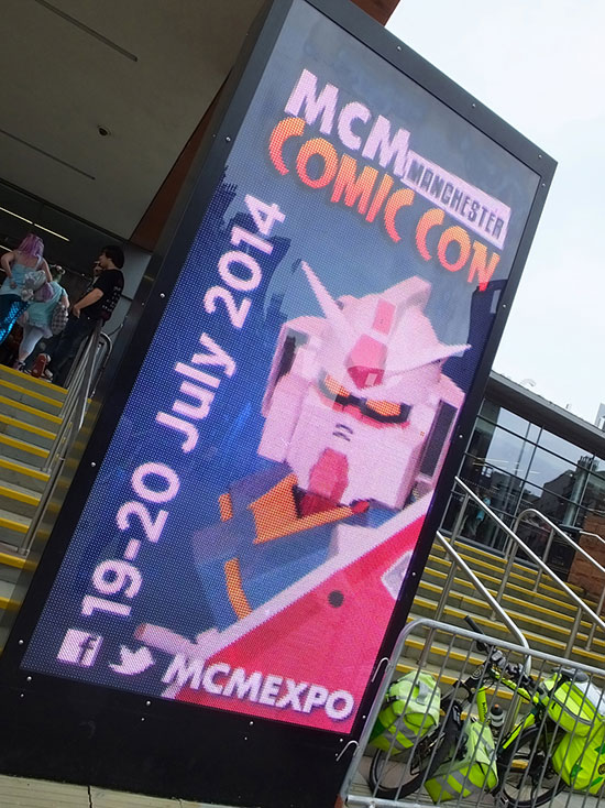 MCM Expo Manchester Comic Con