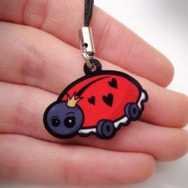 Cute ladybird charm