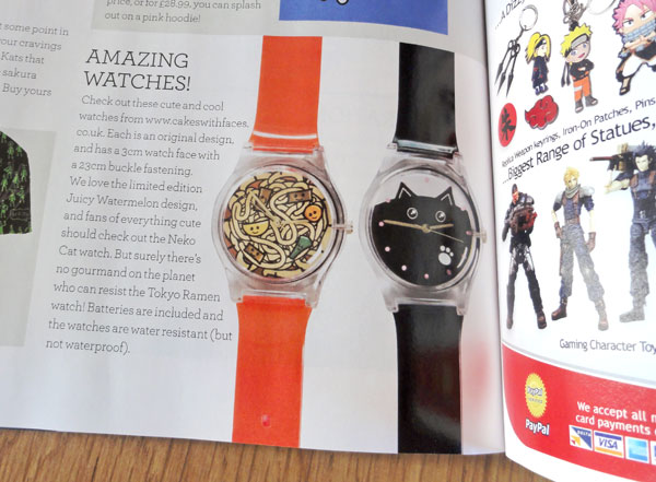 Tokyo Ramen and Neko Cat Watch in NEO magazine