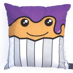 Cake face cushion
