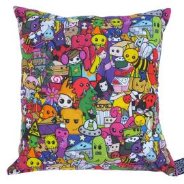 colourful-character-montage-cushion