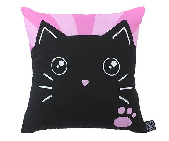 Cute cat cushion
