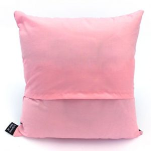 Pink cushion back