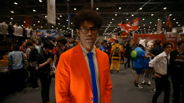 Richard Ayoade at MCM London Comic Con